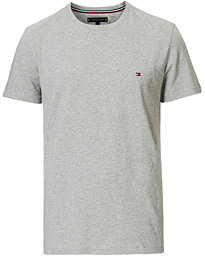 Slim Fit Stretch Crew Neck Tee Cloud Heather