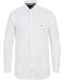 Tommy Hilfiger Slim Fit Stretch Oxford Shirt Bright White