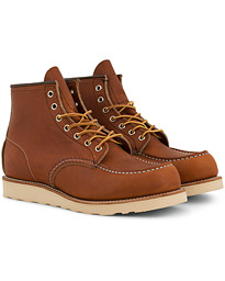 Red Wing Shoes Moc Toe Boot Oro Legacy Leather
