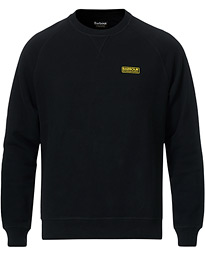 Essential Crew Neck Sweatshirt Black