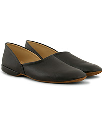Crockett & Jones Grecian Home Slipper Black