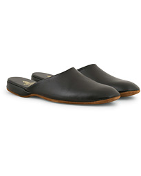 Mule Calf Home Slipper Black
