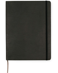 Plain Soft Notebook Pocket XL Black