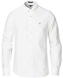 GANT Slim Fit Oxford Shirt White