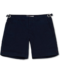Orlebar Brown Bulldog Cotton Twill Shorts Navy