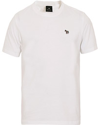 PS Paul Smith Regular Fit Zebra Crew Neck Tee White