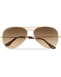 0RB3025 Sunglasses Gold