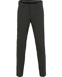 Malthe Wool Stretch Trousers Grey