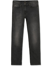BOSS Casual Delaware Slim Fit Stretch Jeans Washed Black