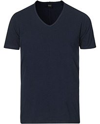 Replay V-Neck Tee Navy