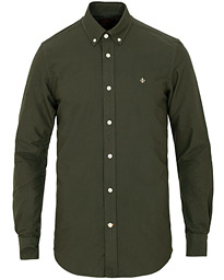 Morris Oxford Solid Shirt Olive
