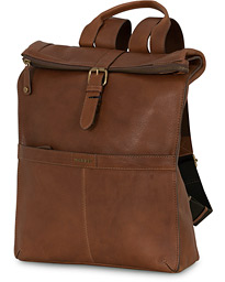 Morris Leather Backpack Cognac