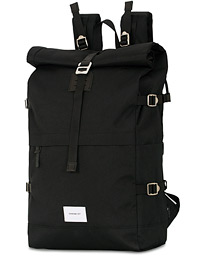 Bernt Cordura Eco Made Roll Top Backpack Black