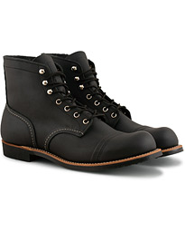 Red Wing Shoes Iron Ranger Black Harness