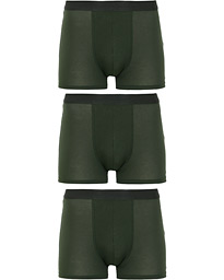 3-Pack Boxer Briefs Army Green