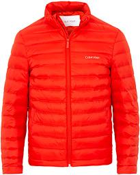170270eb Calvin Klein Lightweight Packable Jacket Fiery Red