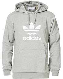 adidas Originals Trefoil Hoodie Medium Grey Heather