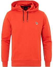 15dc6473 PS Paul Smith Logo Hoodie Sweat Washed Red