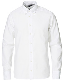 Slim Fit Royal Oxford Button Down White