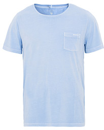 GANT Sunbleached Pocket Tee Capri Blue