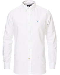 Barbour Lifestyle Tailored Fit Oxford 3 Shirt White