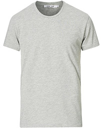 Samsøe & Samsøe Kronos Crew Neck Tee Light Grey Melange