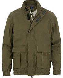 73f0d13c Woolrich Pappery Poplin Track Jacket Green