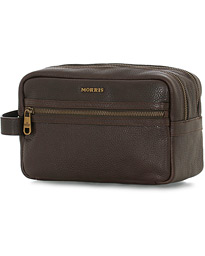 Patrick Toilet Bag Dark Brown