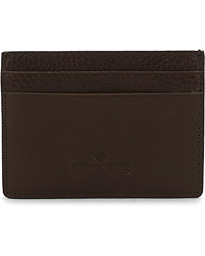 Morris Fred Card Wallet Dark Brown