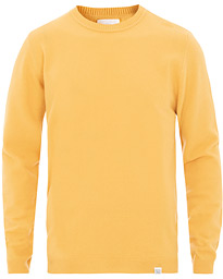 65dad380 Norse Projects Sigfred Light Wool Sweater Sunwashed Yellow