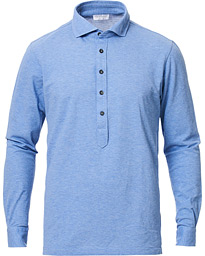 Gran Sasso Popover Shirt Light Blue