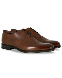 Loake 1880 Export Grade Parliament Whole-Cut Oxford Antique Brown