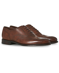 Loake 1880 Export Grade Torrington Oxford Brogue Antique Brown