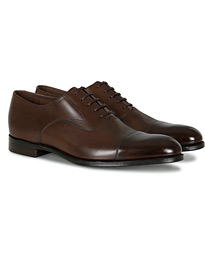 Loake 1880 Export Grade Hanover Toe Cap Oxford Roasted Coffee