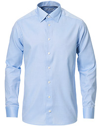 Slim Fit Royal Oxford Button Under Shirt Blue