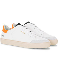 Axel Arigato Clean 90 Triple Sneaker White/Orange Leather
