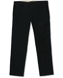 NN07 Theo Regular Fit Stretch Chinos Black
