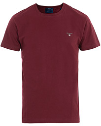 GANT The Original Solid Tee Port Red