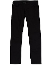 Emporio Armani Slim Fit 5-Pocket Trousers Black