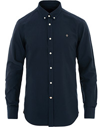 Morris Oxford Solid Shirt Navy