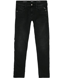 Replay Anbass Hyperflex Clouds Jeans Black
