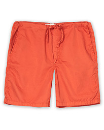 Cleverly Laundry Washed Cotton House Shorts Brick
