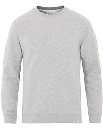 Norse Projects Vagn Classic Crew Sweatshirt Light Grey Melange