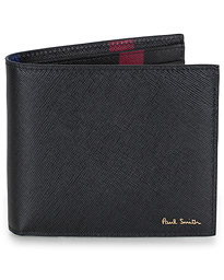 Paul Smith New Mini Print Billfold Black