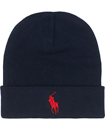 Polo Ralph Lauren Cotton Beanie Hunter Navy
