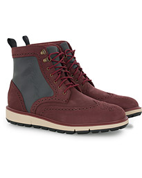 Swims Motion Wing Tip Boot Cabernet