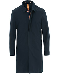 Unlined Cotton Ventile Mac Coat 3.0 Midnight