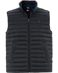 Tommy Hilfiger Packable Lightweight Down Vest Jet Black