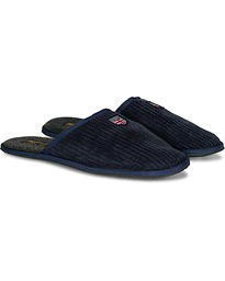 Morris Erwan Slipper Shoe Navy