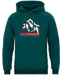 Peak Performance Season Printed Hoodie Botanical Garden